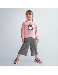 Komplet spodnie culotte