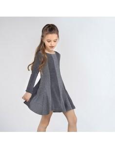 Sukienka dzianina lurex