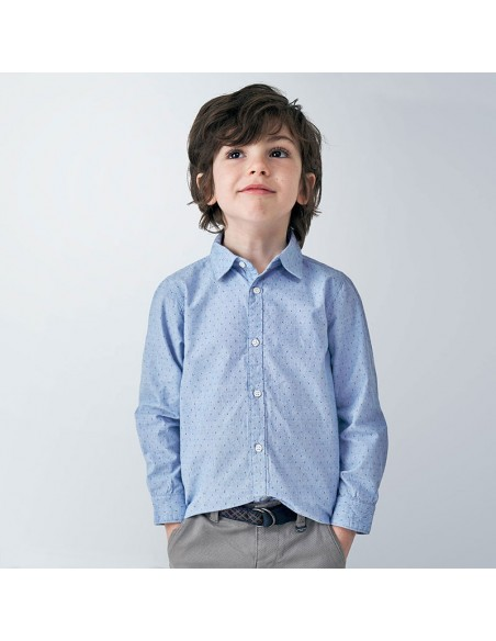 Koszula d/r drobne wzory