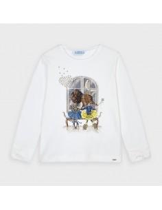 Koszulka d/r kokardka
