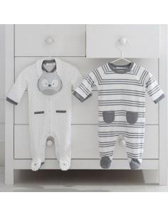 Set 2 piżama/śliniaczek