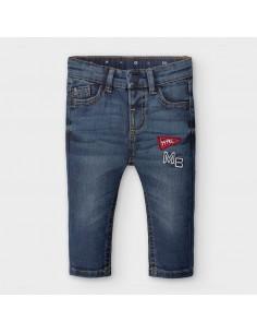 Spodnie jeans jodełka