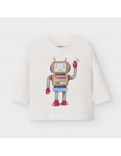 Koszulka d/r robot