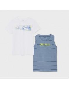Set 2 koszulki na ramiączkach
