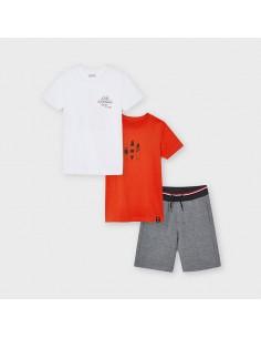 Komplet szorty 2 koszulki