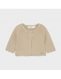 Sweter rozpinany długi basic