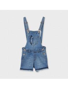 Ogrodniczki krótkie jeans