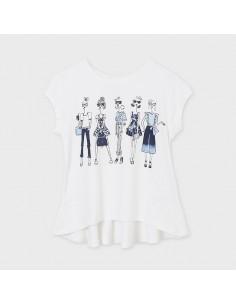 Koszulka k/r dziewczynki