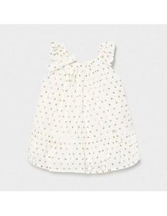 Sukienka perforacją groszki