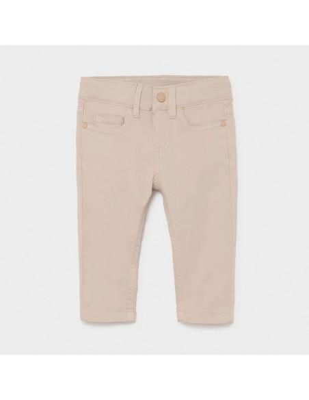 Spodnie serża slim fit basic
