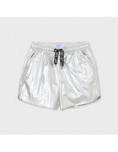 Krótkie spodnie metalizowane