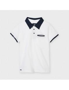 Koszulka polo k/r wzór