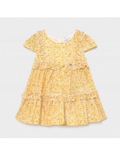Sukienka voile z nadrukiem