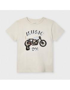 Koszulka k/r moto odblask