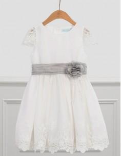 Sukienka tiul z haftem