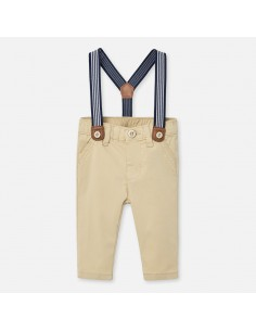 Spodnie długie szelki