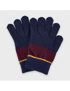 Rękawiczki trójkolorowe