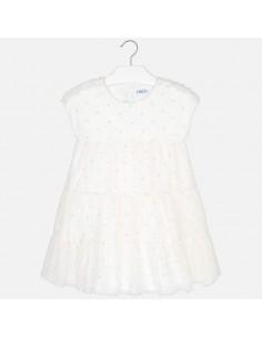 Sukienka plumeti łączona