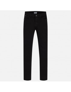 Spodnie z serży skinny basic