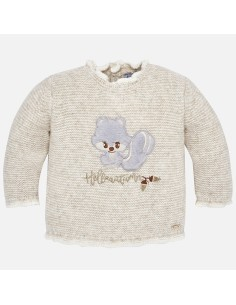 Sweter wiewiórka
