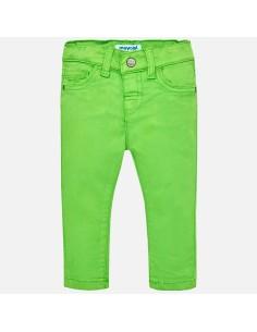 Spodnie super slim barwione