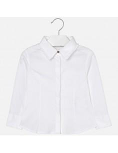 Bluzka elastyczna z popeliny