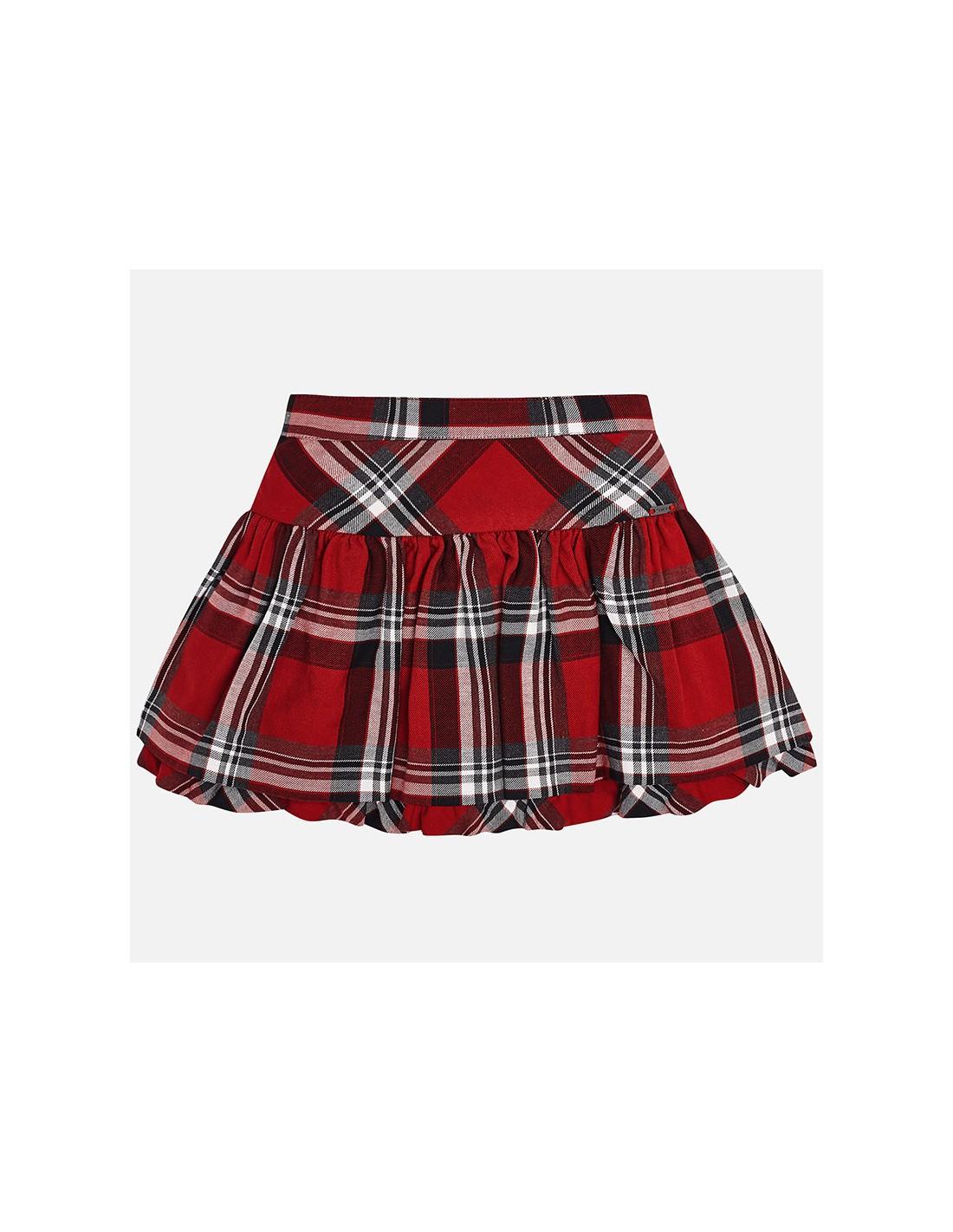 972d55c5 Spódnica kratka kolor czerwony rozmiar 2 lata (92 cm)