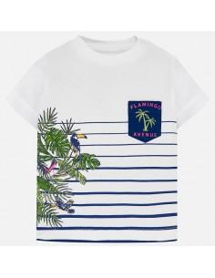 Koszulka k/r z printem