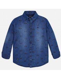 Koszula d/r denim wzory