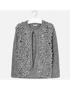 Sweter bucle