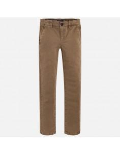 Spodnie klasyczne nadruk