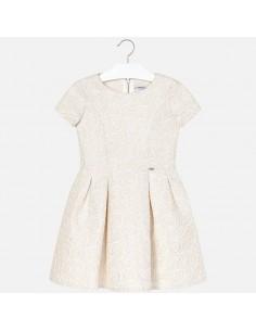 Sukienka żakard