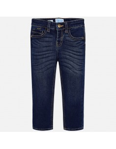 Spodnie jeans slim fit basic
