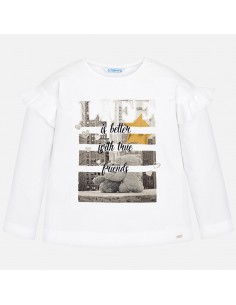 Koszulka d/r z nadrukiem