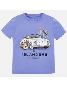 Koszulka k/r nadruk samochód