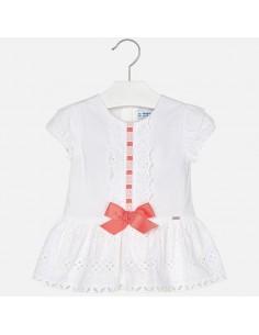 Sukienka z perforacją