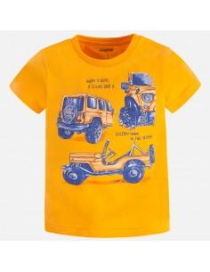 Koszulka k/r samochód