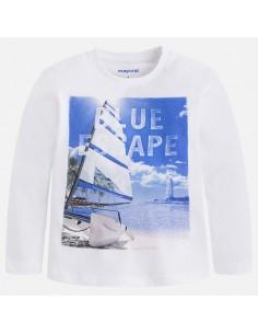 Koszulka d/r /blue escape/