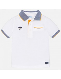 Koszulka polo k/r paski