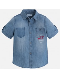 Koszula jeansowa wzory k/r