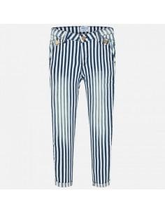 Spodnie długie paski jeans