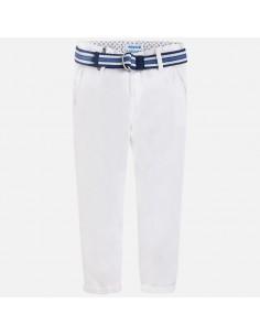 Spodnie klasyczne z paskiem