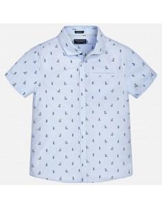 Koszula k/r nadruk
