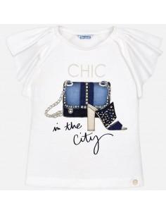 Koszulka k/r torebka buty