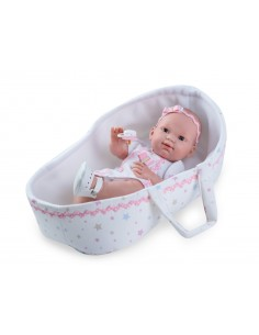 Lalka hiszpańska Nines Baby Recien Nacido Cuna 400