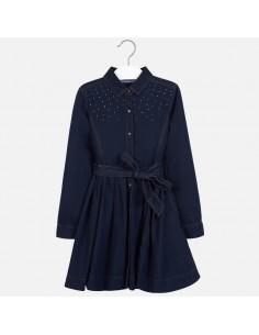 Sukienka tkanina dżety