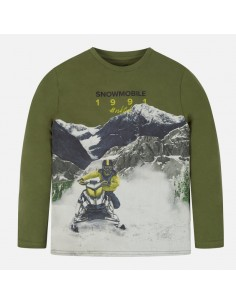 "Koszulka d/r ""snowmobile"""