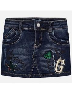Spódnica jeans fantazja