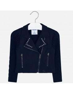 Bluza łączona trykot