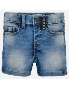 Bermudy jeansowe soft denim